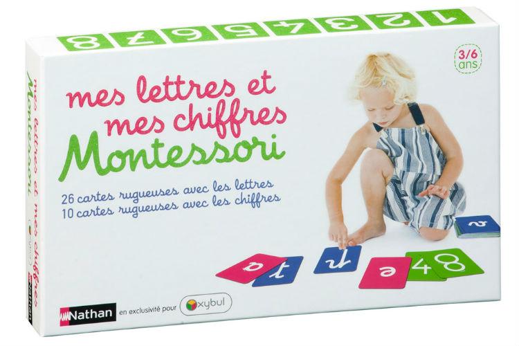 Coffret Montessori Lettres Chiffres Idee Cadeau Enfant 3 ans