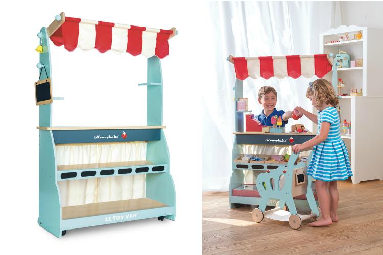 Idee Cadeau Enfant 3 ans Jouet Bois LE TOY VAN Boutique Cuisine Cafe Honeybake